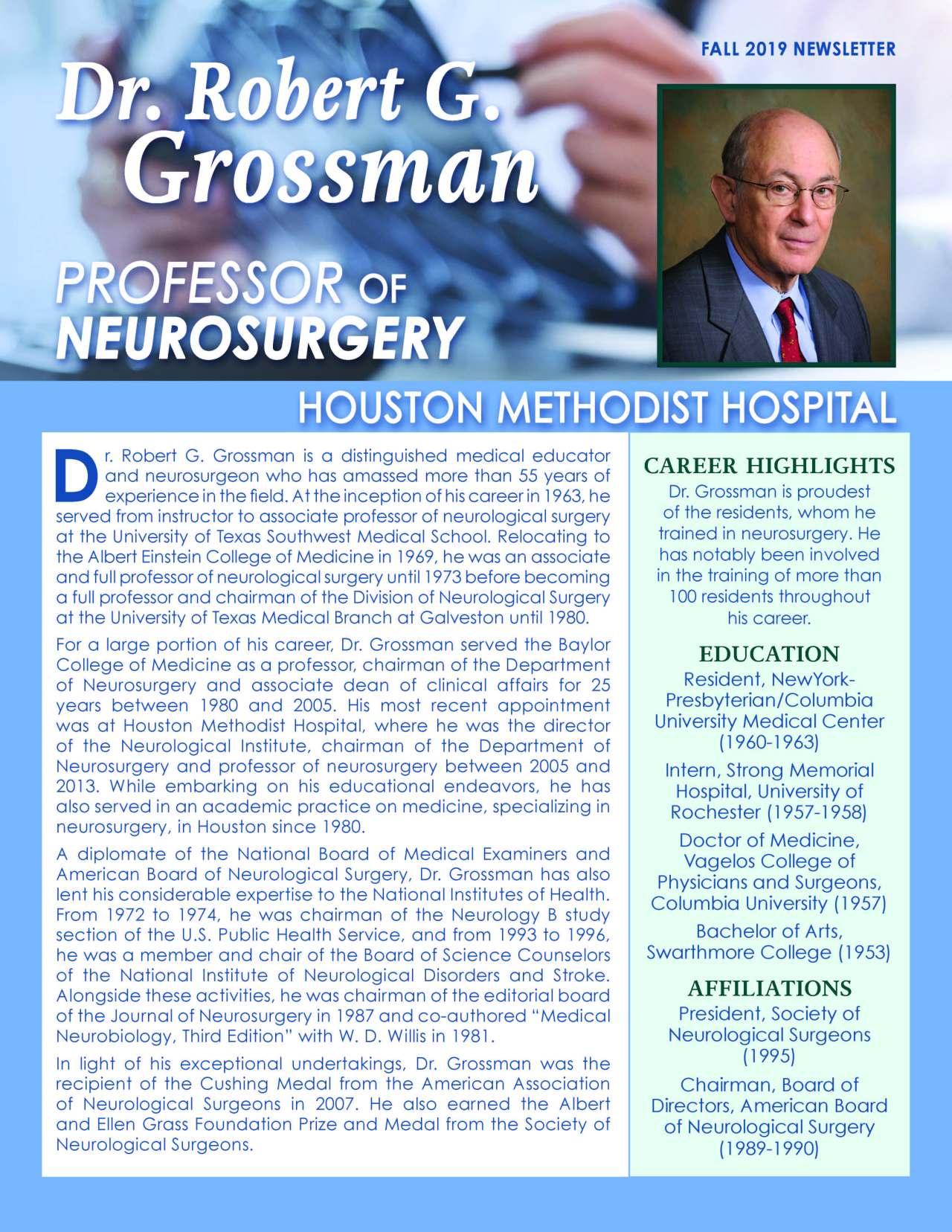 Grossman, Robert 4311873_2384733 Newsletter REVISED