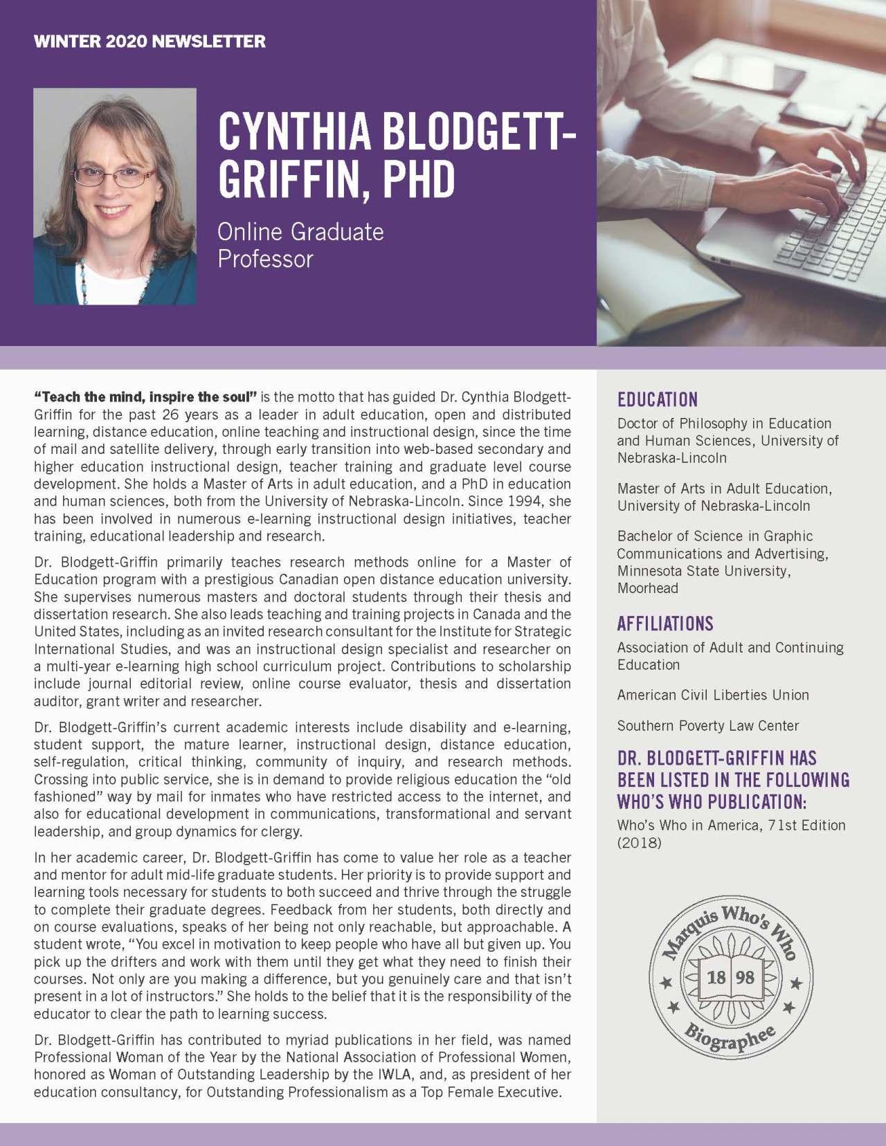 Blodgett-Griffin, Cynthia 1627153_40004051 Newsletter