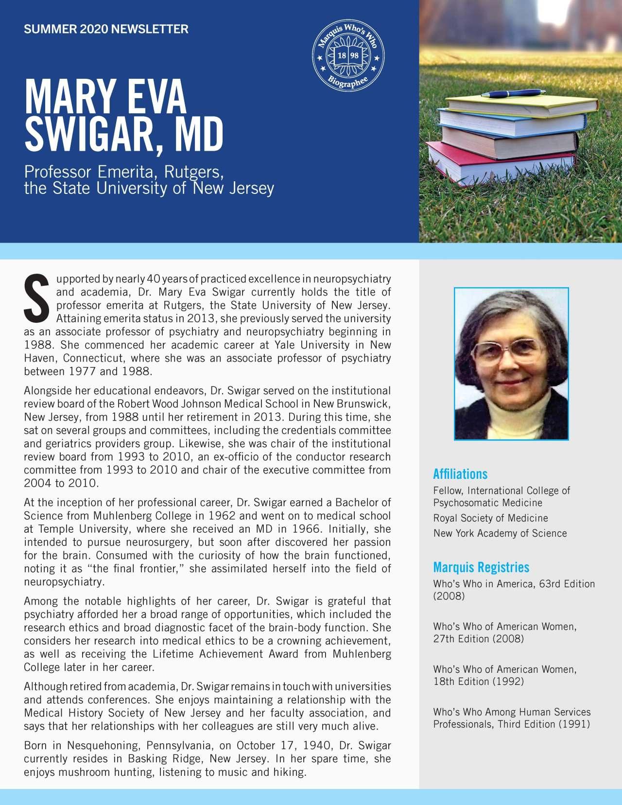Swigar, Mary 4387826_20346053 Newsletter