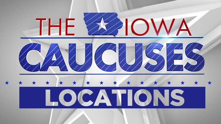 Logo for Iowa Caucuses Locations