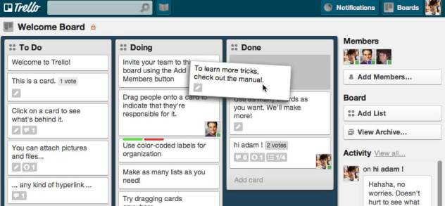 trello for event planning