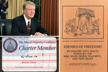 Jimmy Carter, Moral Majority