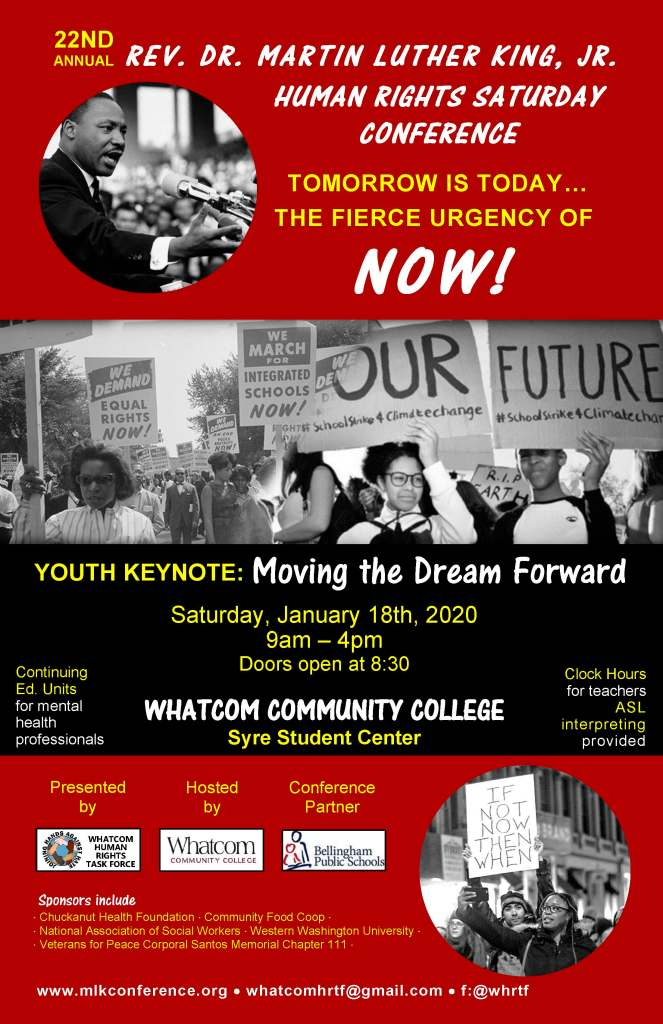 22nd Annual Rev. Dr. Martin Luther King, Jr. Human Rights Saturday Conference