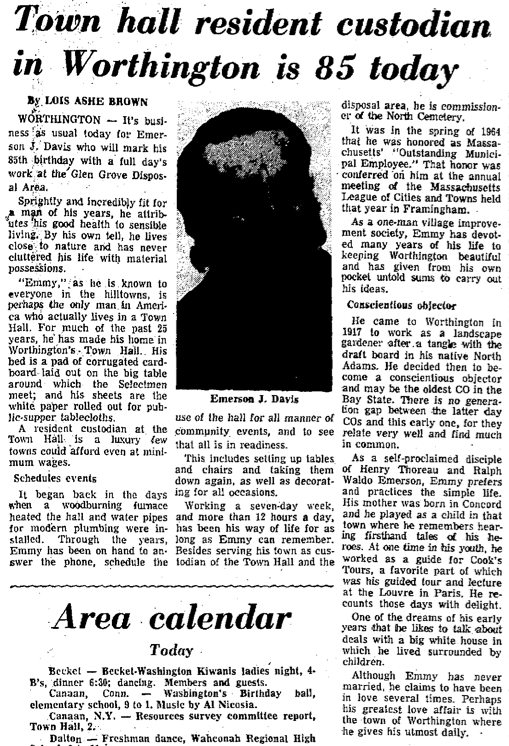 The Berkshire Eagle, February 17, 1973.