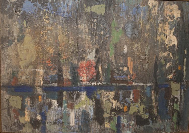 """New York City, Mirrored, 8.5"""" x 6.5"""""""