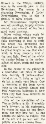 North Adams Transcript, August 19, 1966.