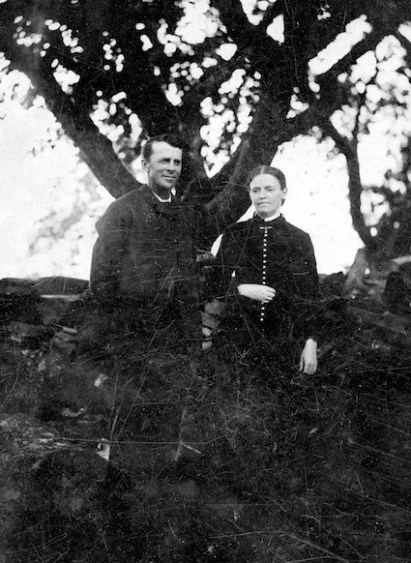 Clement and Ella Crosier Burr, c. 1880s.