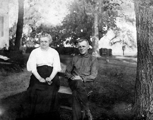 Clement and Ella Crosier Burr c. 1930.