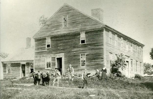 The Huntington Parsonage, 1885.