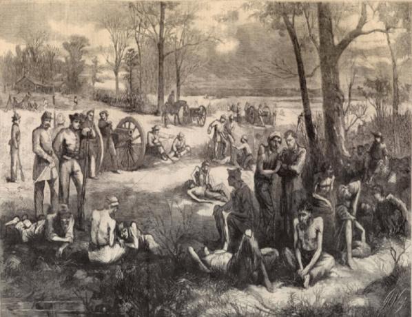 Blackshear prison camp.