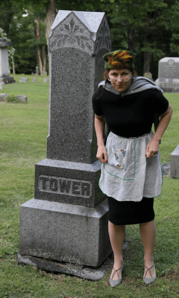 Helen Sharron Pollard as Eurma Tower.