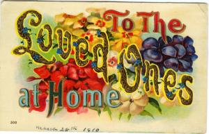 Front side of postcard below.