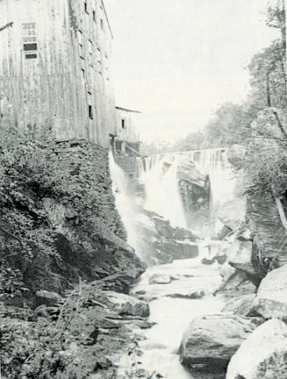 The Stevens Mill c. 1910.