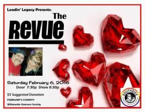 The Revue- Community Fundraiser @ Southside Speakeasy | Salem | Oregon | United States