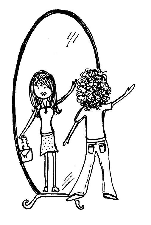 When will my reflection show, who I am inside?