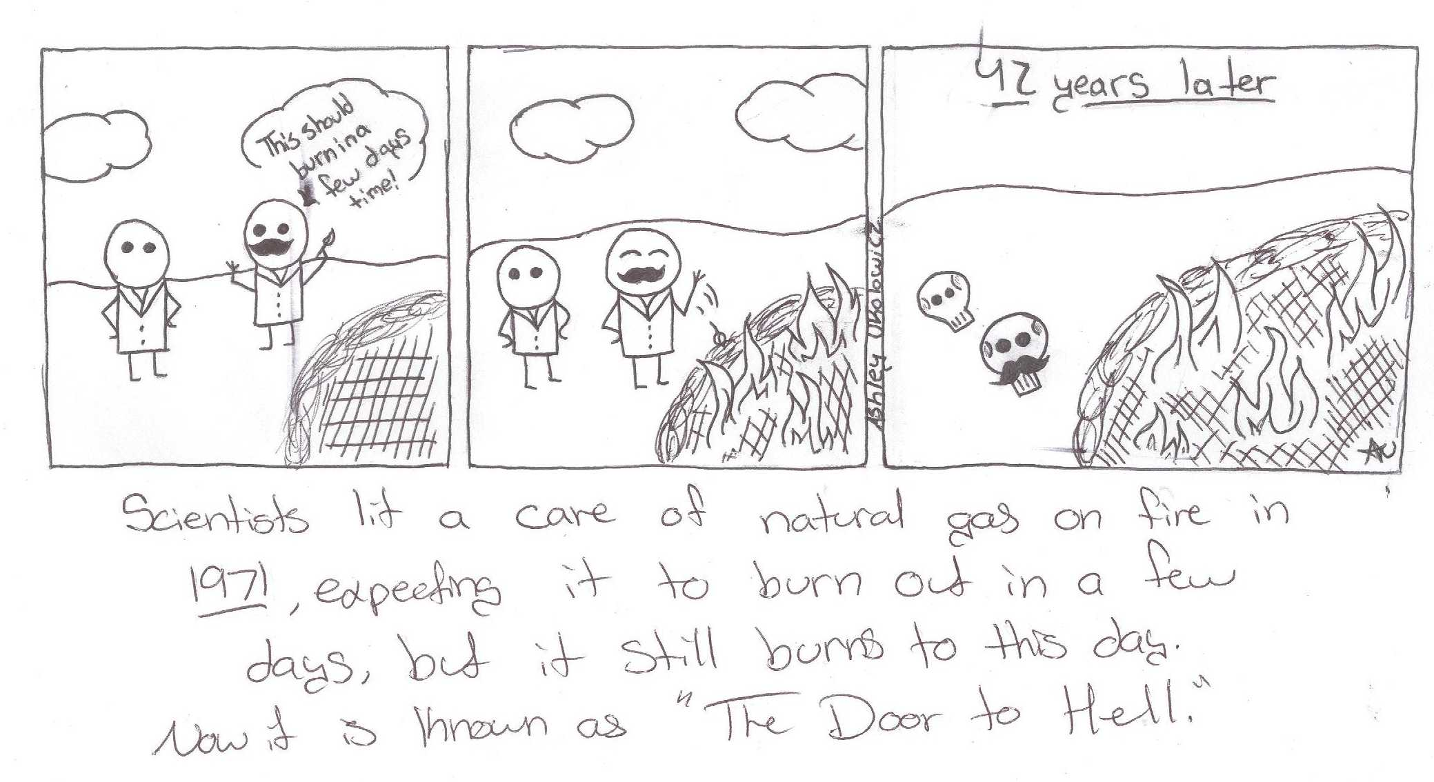 The Johnny Green : door to hell final