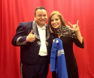 Ramon Rivera and Pop Singer-Songwriter Gloria Trevi