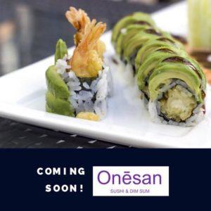 SevenWoks Ghost Kitchen Creates Onesan Dim Sum & Sushi