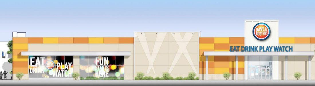 Dave and Buster's Rendering
