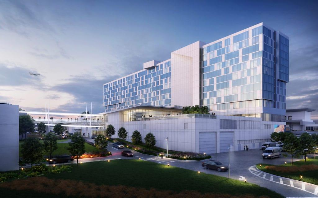 Atlanta Airport Hilton Rendering 1