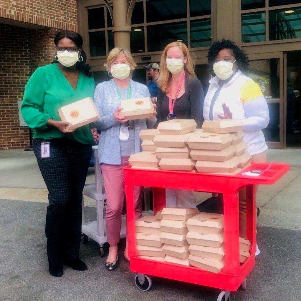 Slutty Vegan - Northside Hospital - Delivered Food - COVID-19