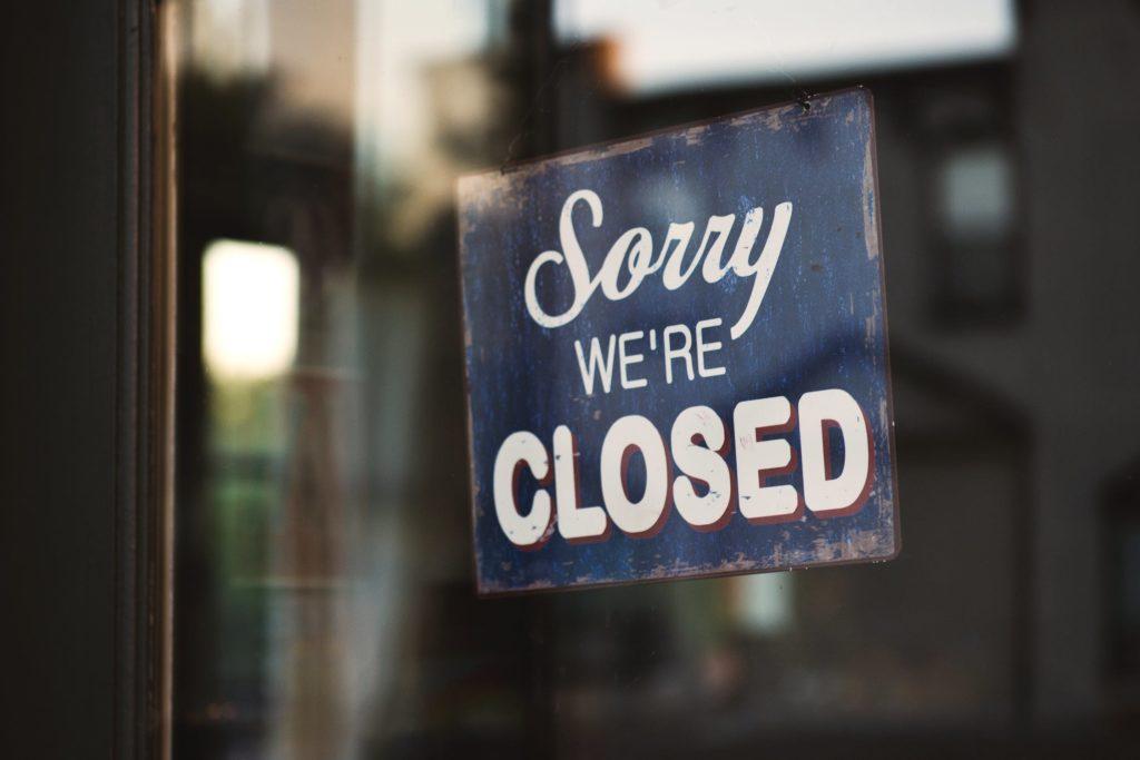 Sorry We're Closed Atlanta
