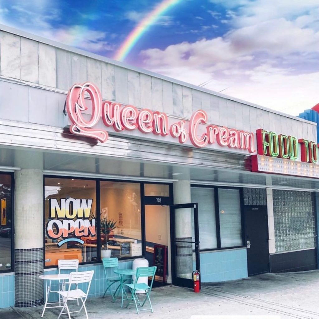 Queen of Cream Closes in Poncey-Highland