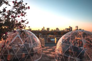 The Roof at Ponce City Market Igloos