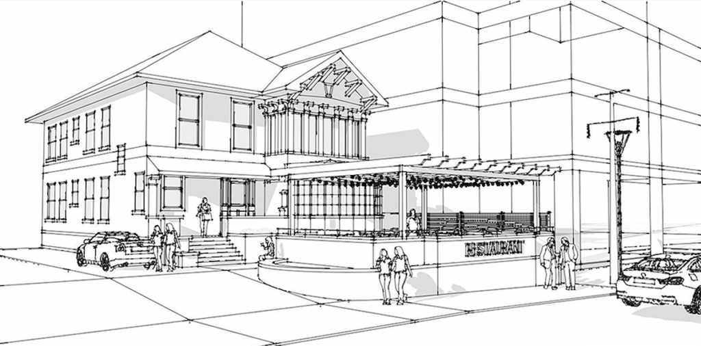 1100 West Peachtree Street Could Become Restaurant