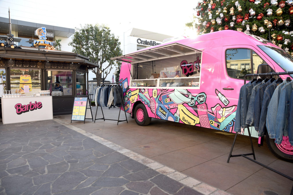 Barbie Truck Totally Throwback Tour Launch