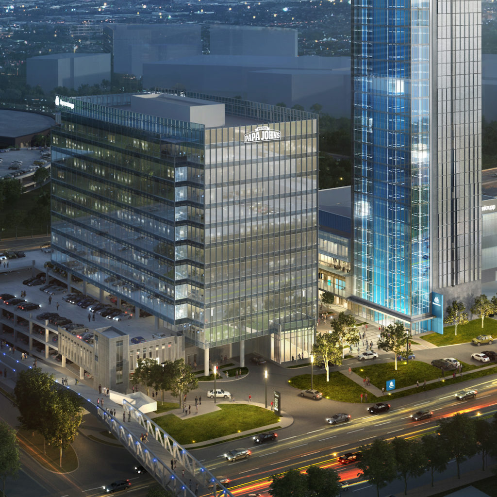 Papa Johns ATL HQ rendering