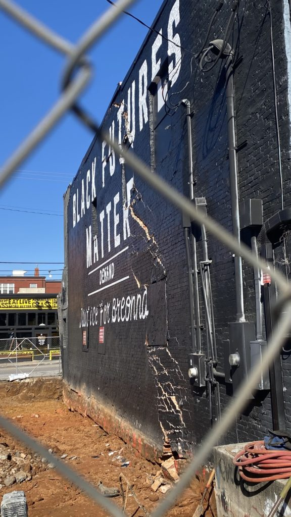Building Formerly Home To The Sound Table Near Collapse Following Construction Snafu
