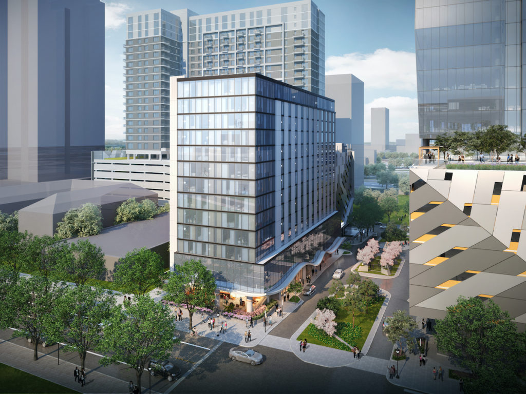 Midtown Union Complex Lands Kimpton Flag, Two Restaurants - Rendering 1
