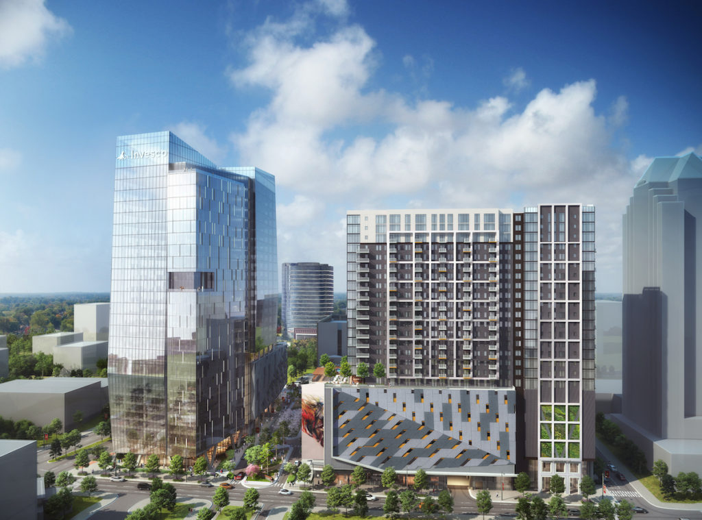 Midtown Union Secures Nearly $300 MM in Office, Residential Construction Financing - Rendering 1