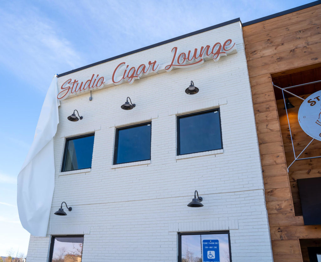 Multi-Level Studio Cigar Lounge Set To Open Early-2021 Just South of Airport
