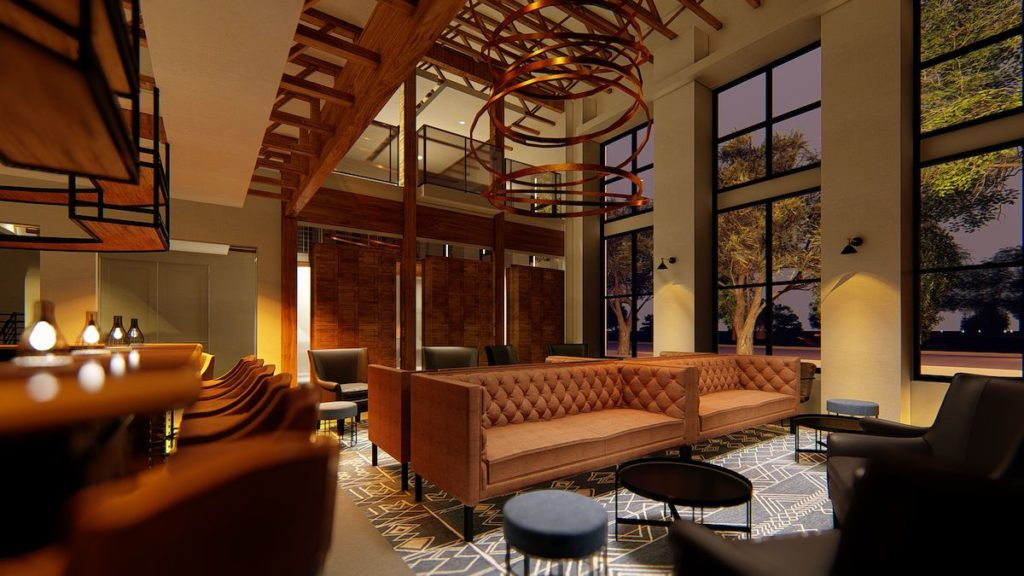 Studio Cigar Lounge Set To Open Early-2021 With 'Largest' Walk-In Humidor in Southeast - Rendering
