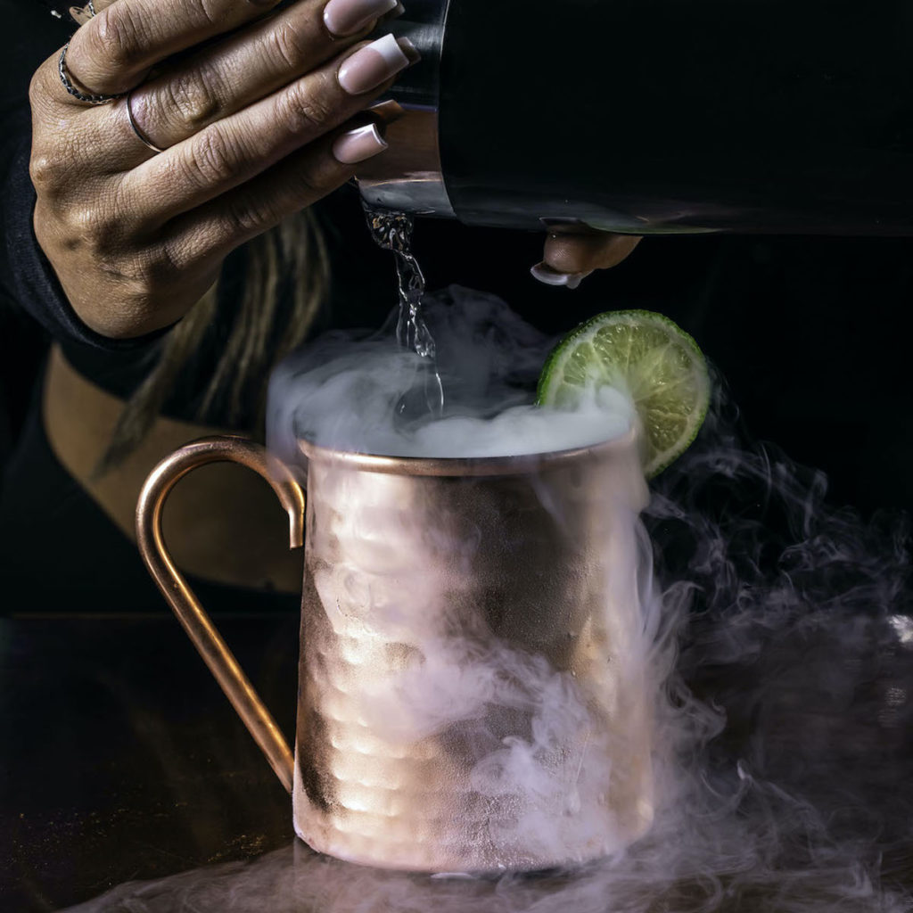 Drink Cocktails Out of a Fire Extinguisher, Bank Safe When Bar Vegan Debuts in February - Photo