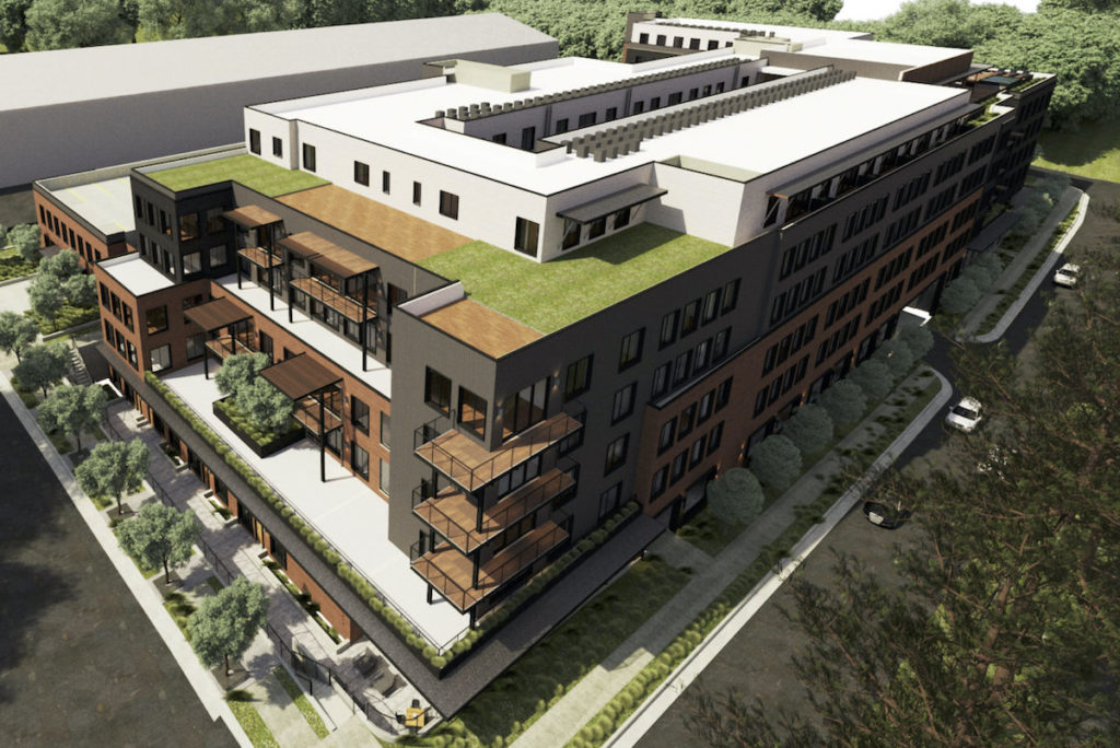 Construction Underway at 230 North Finley Street Student Housing Project Near UGA - Rendering 3