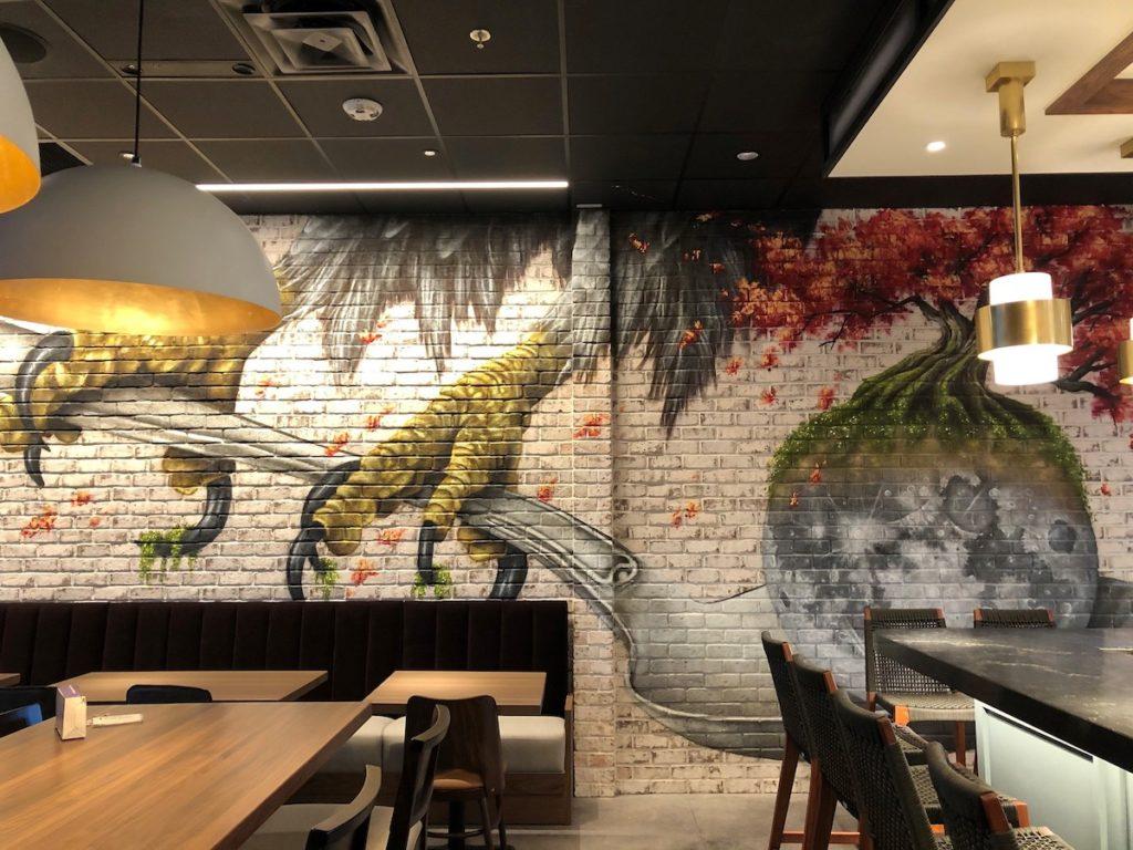 Woodall mural by Thomas Turner