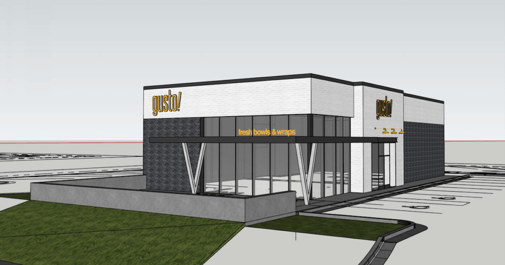 Athens To Get First gusto! Outside of Atlanta Area - Rendering 1