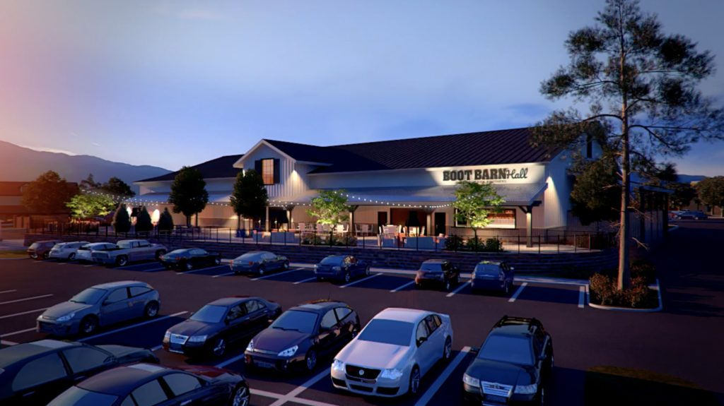 B Entertainment Gainesville Rendering