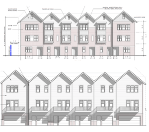Planned 31-Townhome Chosewood Park Project Heads Before BeltLine DRC