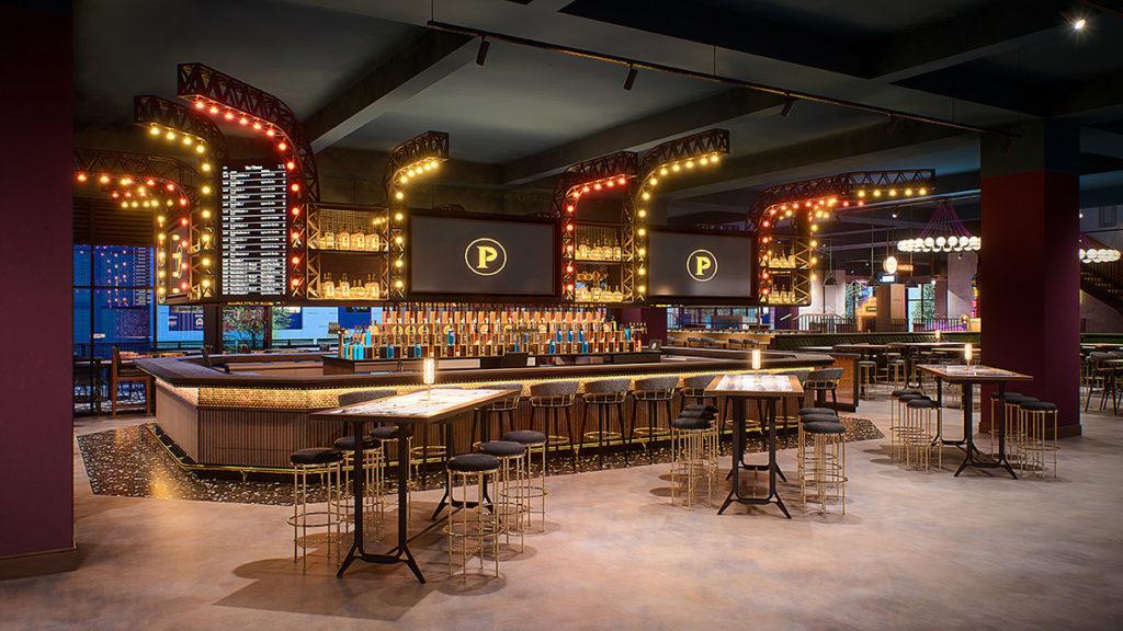 Puttshack Atlanta Main Bar