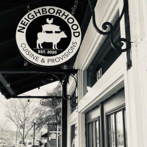 Neighborhood Cuisine & Provisions Adding First Storefront