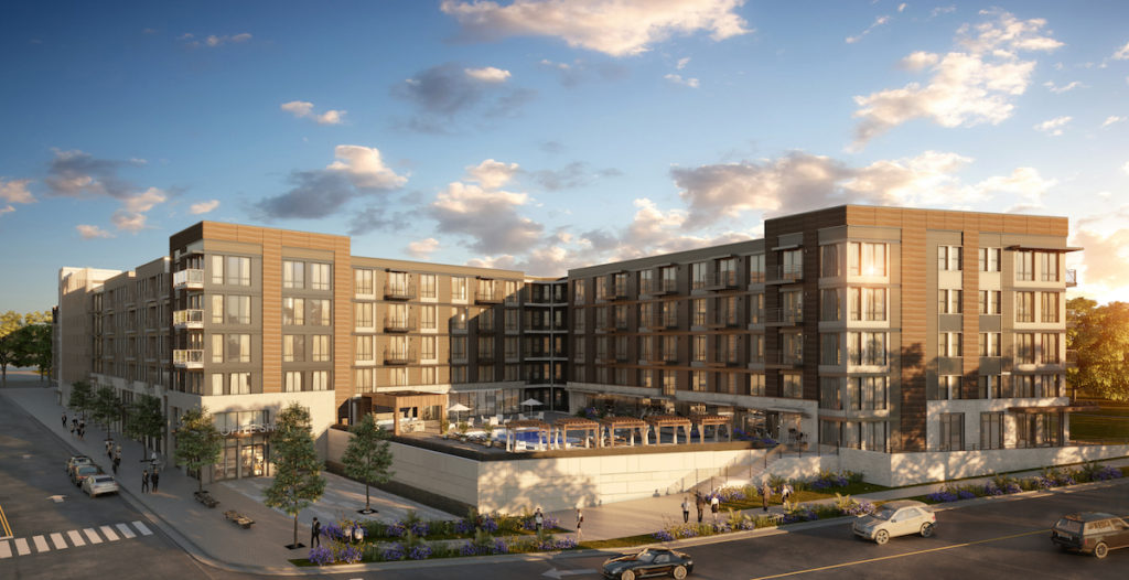 The Allen Morris Company Approved to Develop Six-Acre, North Druid Hills Parcel for Multi-Family Development - Rendering 1