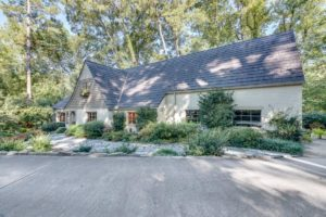 Newly Listed English Cottage is a Rare Find in Buckhead.