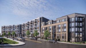 InTown Suites Redevelopment Rendering 1