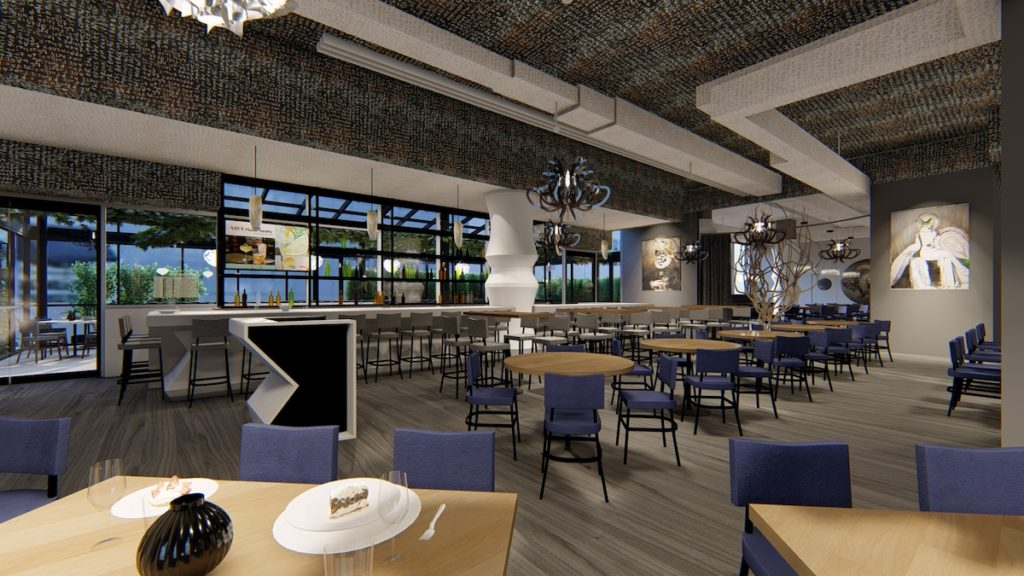 Interior Renderings, Details Unveiled For Planned Buckhead 5Church - Rendering 1