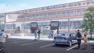 Southwest Atlanta's Lifecycle Building Center 'Break Ground' June 22 on Multi-Million Dollar Reno - Rendering 1