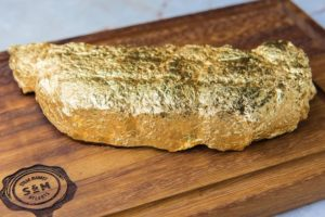 Gold Leaf-Encrusted Steaks - It's What's For Dinner in Midtown When Steak Market Opens